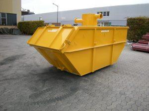 Kontejner za velike količine posesanih odpadkov Vakuum tehnik sesalna tehnologija Šrot